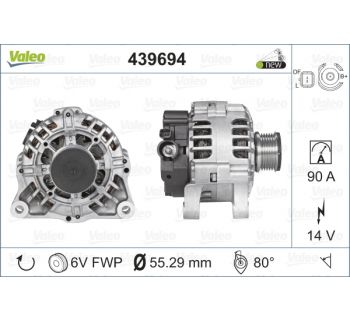 Alternateur VALEO 439694