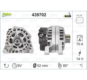 Alternateur VALEO 439702